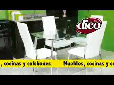 Precios comedores muebles dico videos videos for Precios de recamaras en muebles dico