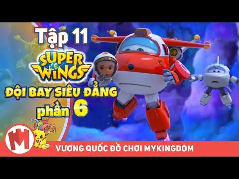 ĐỘI BAY SIÊU ĐẲNG - Phần 6 | Tập 11: Lỗ Đen Vũ Trụ - Phim hoạt hình Super Wings - Thời lượng: 12:09.