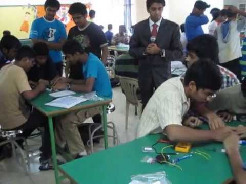 Electronics Circuit Designing Workshop at School Level
