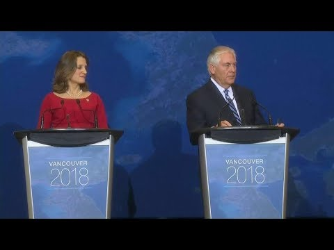 Remarks With Canadian Foreign Minister Chrystia Freeland at a Press Availability