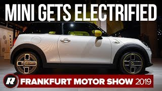 2020 Mini SE gets electrified at the Frankfurt Motor Show by Roadshow