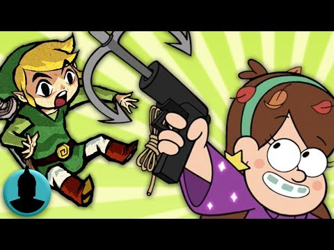 Nintendo References in Cartoons! Zelda, Mario + MORE! (Tooned Up S4 E8)