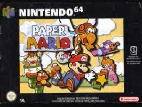 Paper Mario OST - Ridin' The Toad Train