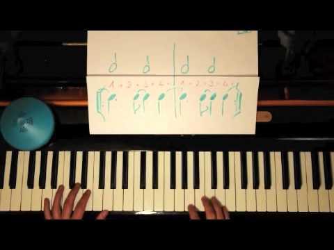 Salsa Piano Montuno Lesson#4