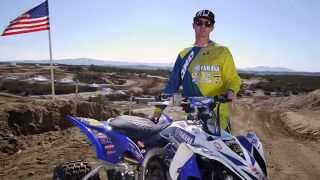 9. Dustin Nelson's 2014 Yamaha YFZ450R Quad X Race Bike