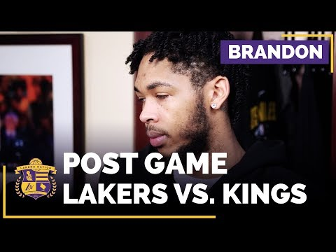 Video: Brandon Ingram On Lakers Turnovers, Brook Lopez' Three-Point Shooting
