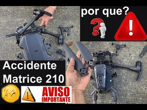 ACCIDENTE DRONE MATRICE 210 POR QUE - QUE NO TE PASE en ESPAÑOL
