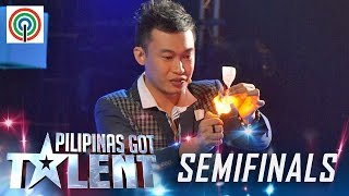 Video Pilipinas Got Talent Season 5 Live Semifinals: Ody Sto. Domingo - Close Up Magician MP3, 3GP, MP4, WEBM, AVI, FLV Maret 2019