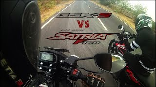 GSX S150 VS ALL NEW SATRIA F150 FI (satria injeksi/fufi)