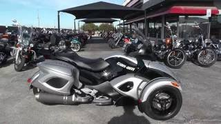 2. 000491 - 2009 Can Am Spyder GS SE5 - Used motorcycles for sale