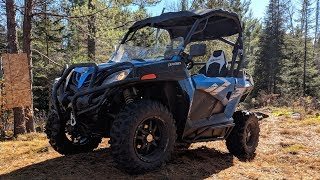 8. 2019 CFMOTO ZForce 800 Trail First Impressions!