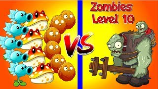 """Zombies Level 10 vs Plants Level 1 in Plants vs Zombies 2 NEW!Snow Pea, Explode o"""" nut , Toadstool vs All Zombies level 9 and 10.(Plantas Contra Zombies 2) New Update from PopCap and first time played.Thank You for watching my videos :)Click Here to Subscribe ► http://ow.ly/YB0uj Twitter………………….► https://twitter.com/PrimalGameplayMore Videos of Primal Gameplay:PvZ 2 Every Plant Power Up….► http://bit.ly/2qnPowqPvZ 2 Team vs Team………..…►  http://bit.ly/2qfamkJPvZ 2 Zombies vs Zombies ..…►  http://bit.ly/2pdtQF1PvZ 2 Zomboss Fight ………….►  http://bit.ly/2oGlFCHPlants vs Zombies 2 The Best ..►  http://bit.ly/2pdHc45Plants vs Zombies 2 Most Popular ..► http://bit.ly/2pufNM7PvZ 2 Free vs Premium……..…►  http://bit.ly/2pqgd3TPvZ 2 Teams Gameplay ..…..…►  http://bit.ly/2pubsYYPvZ Heroes Gameplay .. .…..…►  http://bit.ly/2qfZobYAbout This Game:Platforms: IOS, AndroidPublisher: EA - Electronic ArtsDeveloper: PopCap GamesThanks for every Like, Share, and Comment!Plants vs Zombies 2Platforms: IOS, AndroidPublisher: EA - Electronic ArtsDeveloper: PopCap GamesThanks for every Like, Share, and Comment!"""""""