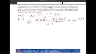 Umh2072 2013-14 Unidad 3 Descripción De Datos Y Distribuciones. Problema 2
