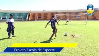 """Escola de Esporte leva crianças e adolescentes ao """"Douradão"""""""