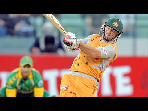 From the Vault: Warner goes off on T20 debut