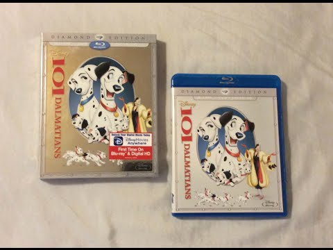 101 Dalmatians: Diamond Edition (1961) Blu Ray Review And Unboxing