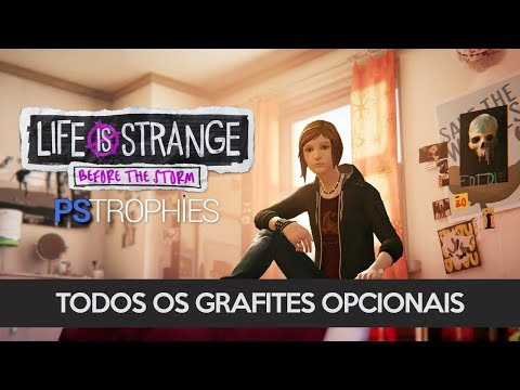 Life is Strange: Before the Storm - Episódio 1:  Todos os grafites opcionais