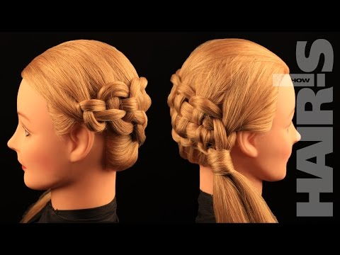 How to do a zipper braid hairstyle