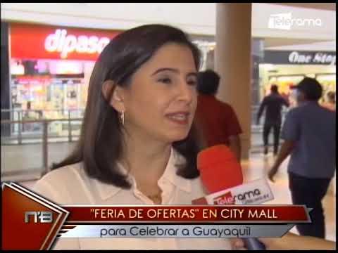 Feria de Ofertas en City Mall para celebrar a Guayaquil