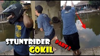 Video STUNTRIDER GOKIL AIR KOLAM PAKE V0DKA - GREBEK PAKSA PART 2 MP3, 3GP, MP4, WEBM, AVI, FLV Januari 2019