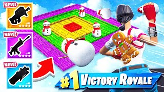 THROW the SNEAKY SNOWMAN Game Mode in Fortnite Battle Royale