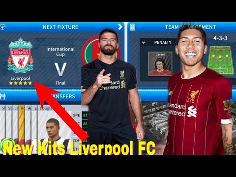 Dream League Soccer How To Make Liverpool FC Kits & Logo 2019/2020