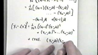 Methods in Complex Systems: Lecture 3, Part  A