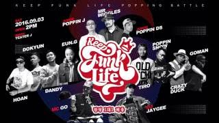 Dokyun vs  J.One – Keep funk life Korea Final
