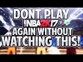 CENTERS MUST WATCH THIS VIDEO BEFORE PLAYING NBA 2K17!THE MOST IMPORTANT POSITION ON THE COURT!