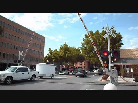 railroad crossing - This is a video I made from all the different railroad crossings I have been to putting phase 5 together in Railroad Crossing Signals 41 Through 50 Which Is ...