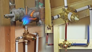 4 Types of Shower Valve Assembly Installations