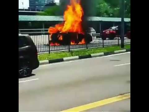 Fire 🔥 Explosion at Singapore