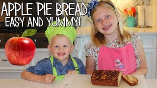 Fresh apples and cinnamon are one of the yummiest combinations! In today's kid size cooking, we make warm, fresh apple pie bread! It's a super easy to make...