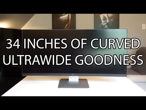Dell U3415W Ultrawide Curved Monitor Review