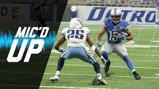 Golden Tate Mic'd Up vs Titans (Week 2) | Sound Fx | NFL by NFL Films