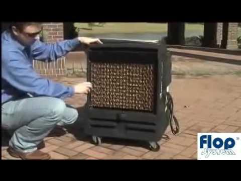 Schładzacz powietrza ewaporacyjny - klimatyzer BryzaCOOL200