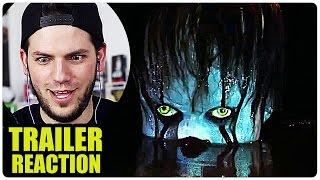 """Hier gibt es meine erste Reaktion auf den """"Es"""" Trailer. Kinostart: 21 September 2017 Horror-Thriller. New Line Cinemas..."""
