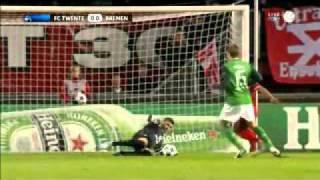 Marko Arnautovic trifft gegen Twente (2010)