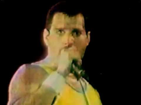 "the last time of freddie mercury ""live"" in ""another one bites the dust"""