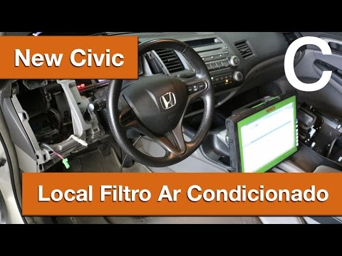 Dr CARRO Local Filtro Ar Condicionado New Civic