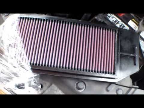 DIY How to remove install engine air filter 2006 Acura TSX