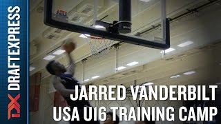 Jarred Vanderbilt 2015 USA U16 Training Camp Footage