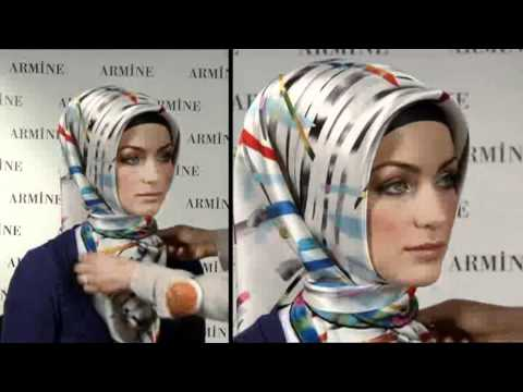Hijab Fashion: Armine Eşarp Bağlama Modelleri # 4