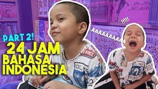 Video Ngomong Bahasa Inggris Dihukum TERIAK DI MALL! Qahtan Malu Banget! | 24 Jam Bahasa Indonesia #PART2 MP3, 3GP, MP4, WEBM, AVI, FLV Juli 2019