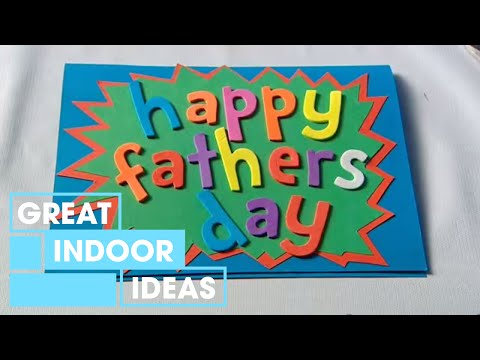 fathers day gift - There's nothing better than a handmade present and Tara has the simplest of gift ideas for the kids to make for dad this Father's Day.