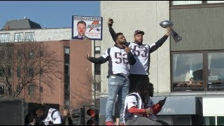 Super Bowl LIII Champion New England Patriots roll through Boston in victory parade