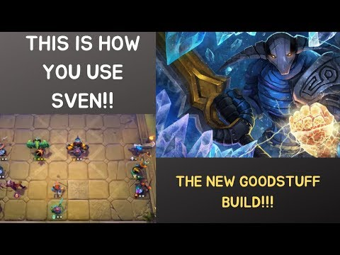 THIS IS HOW TO USE SVEN THE NEW GOODSTUFF BUILD