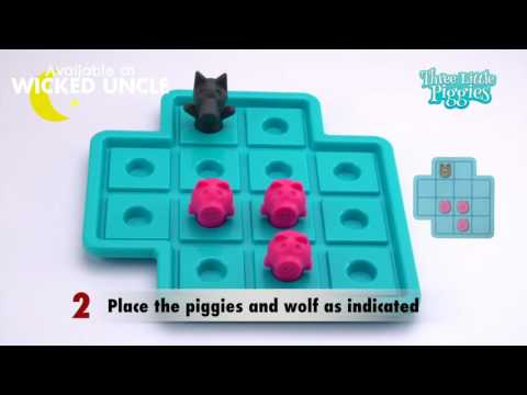 Youtube Video for Three Little Piggies - 48 Fun Challenges