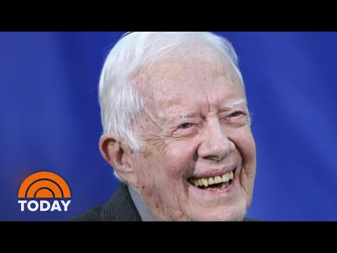 Jimmy Carter Back In Hospital, Treated For Urinary Tract Infection   TODAY