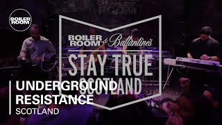 Underground Resistance - Presents Timeline | Boiler Room & Ballantine's Stay True Scotland Live Set